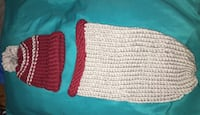 $30 the set crochet cacoon and hat premie newborn Felton, 56536