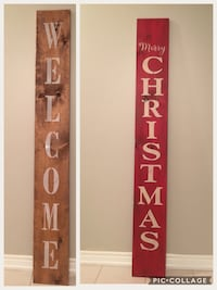 Reversible welcome sign Essa, L0M
