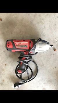Red and black corded power tool Porter, 77365