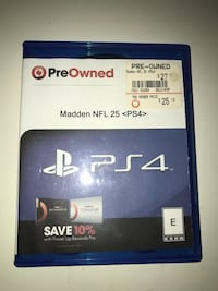 Madden NFL 25 PS4 game Parma Heights, 44130