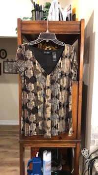 Nice Woman's Small Brown Tones Blouse Top West Covina, 91792