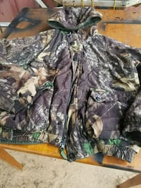 black and green camouflage zip-up jacket Semmes, 36575