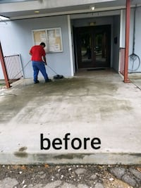Residential pressure washing and window cleaning  Houston, 77039