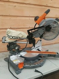 gray and orange Ridgid miter saw Placentia, 92870