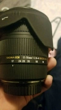 Sigma 17-70mm f2.8-4.5 lens for Canon Alhambra, 91801