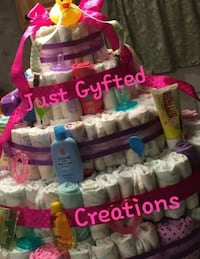Diaper cakes made to order