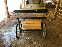 One horse pull cart never used