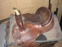 Lamb Barrel racing saddle SAINTAUGUSTINE