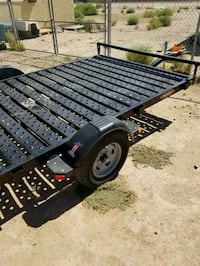 black and gray utility trailer Eloy, 85131