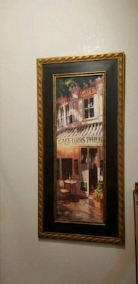 brown wooden framed painting of house Atlanta, 30303