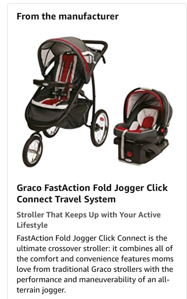 Graciela Snug Ride Click Connect Car Seat Red