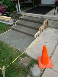 Costum poured steps for medical issues  Redford Charter Township, 48240