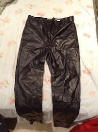 Artzia leather pants great condition  Vancouver, V5Y