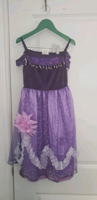 HALLOWEEN Girl purple princess dress/costume