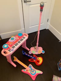 4 items: Musical instruments