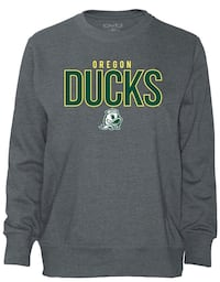 Oregon Duck ladies long sleeve French terry Eugene, 97404