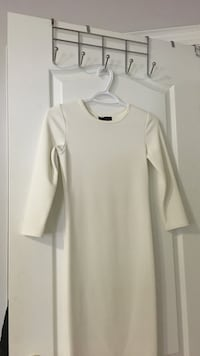 White mid-dress size small Vaughan, L4H 0X9