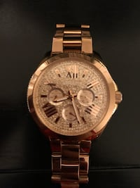 FOSSIL Cecile Multi-Function Rose Crystal-set Dial Rose Gold-tone Ladies Watch Brampton, L6T 2Y2