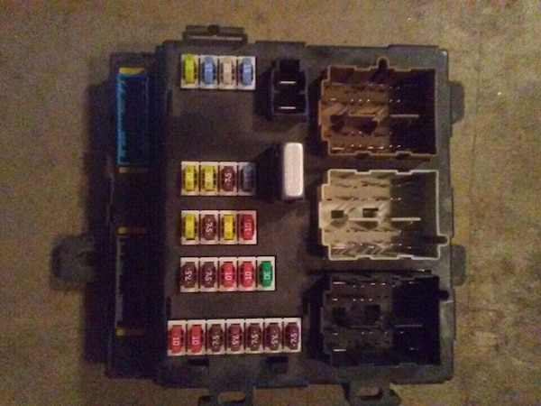 Fuse Box For Ford 500