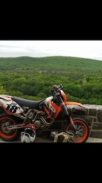 Powder coated super Moto wheel and tires  Blairstown, 07825