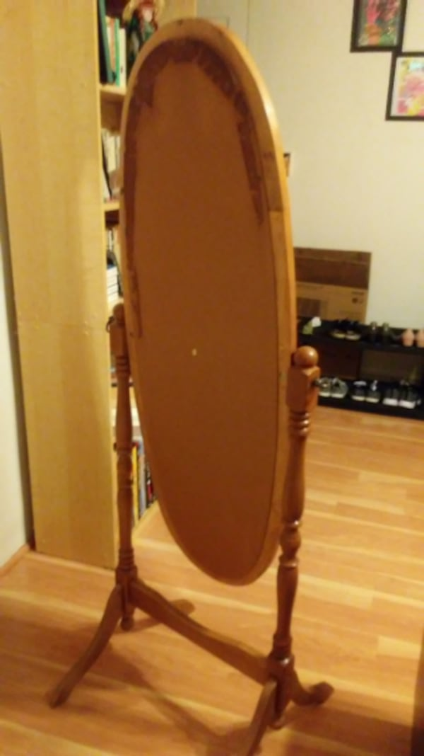 Antique-style Full Length Free-standing Dressing Mirror feb702cb-90a1-432d-ab4e-6d0cde012427