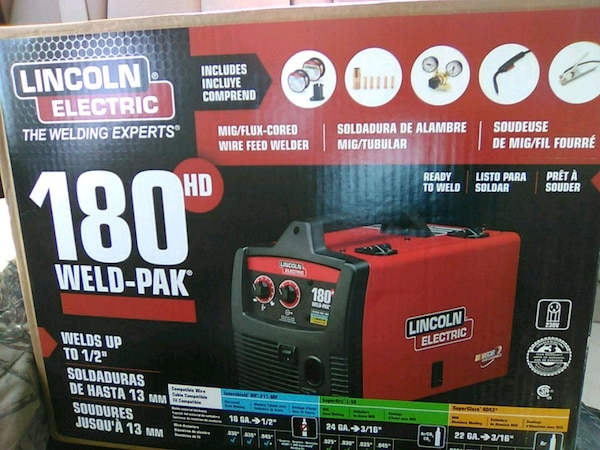 Used Lincoln Electric 180 Weld Pak For In North Richland Hills Letgo