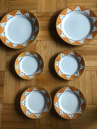 Plates from Macy's  New York, 10021