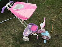 baby's pink and white push trike Calgary, T3J 4L9