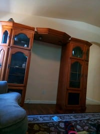 brown wooden cabinet with mirror Fresno, 93722