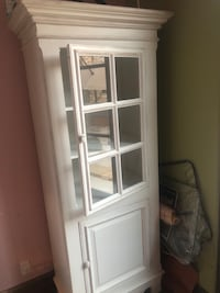 White Wooden Tall Cabinet Los Gatos, 95033