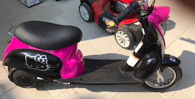 Girl electric scooter