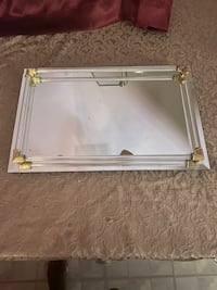 Mirror & Brass Vanity Tray Upper Marlboro, 20774