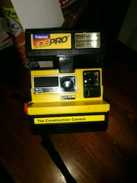 black and yellow digital device