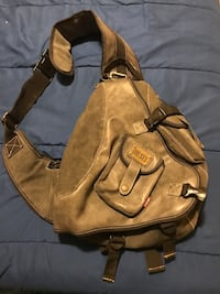 brown leather 2-way handbag Surrey, V4N 5X9