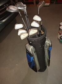 King Cobra complete iron set/ irons, woods, bag, and putter