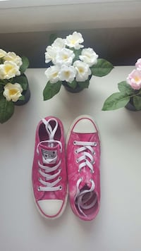 CHUCK TAYLOR ALL STAR CONVERSE ROSAS 6080 km