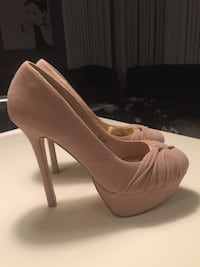Nude pumps str 38/39 Grimstad, 4877