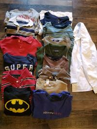 Boys Long Sleeve Shirts Tops Dress Shirt (Lot) size 7-10 Bryanston, N0M 2A0