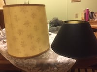 two brown and black lamp shades Ocala, 34476