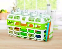 Munchkin High Capacity Dishwasher Basket / baby bottle dishwasher rack Calgary, T3K 4M2