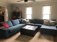 Large sectional with chaise. Originally purchased from Ikea  Laurel, 20708