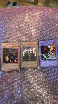 Lord of D. Holo Yu-Gi-Oh Card + 2 other Rare Cards