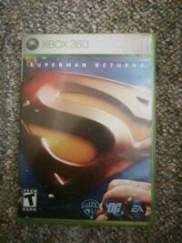 Suprrman returns xbox360 game Winnipeg, R2J 1A6