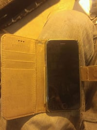 IPhone 6S  with Burberry case