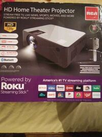 RCA HD home theater projector with Roku