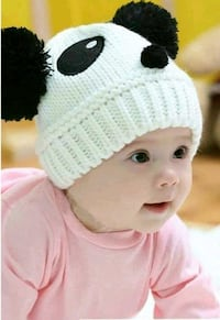 Offer new hats 1- 3 years old pink, white