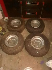 Atv front and back wheels and tires Nicholson, 30565