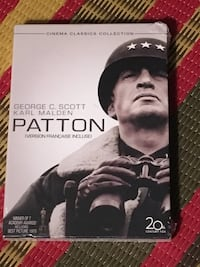 Patton 2 disc DVD new and sealed