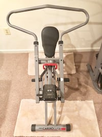 WESLO CARDIO GLIDE PLUS WITH MONITOR—PUSH & PULL EXERCISES—LOW IMPACT Ashburn, 20147