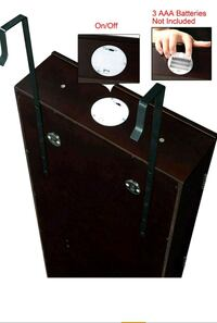 Over The Door Jewelry Armoire - with Lock Upper Marlboro, 20772